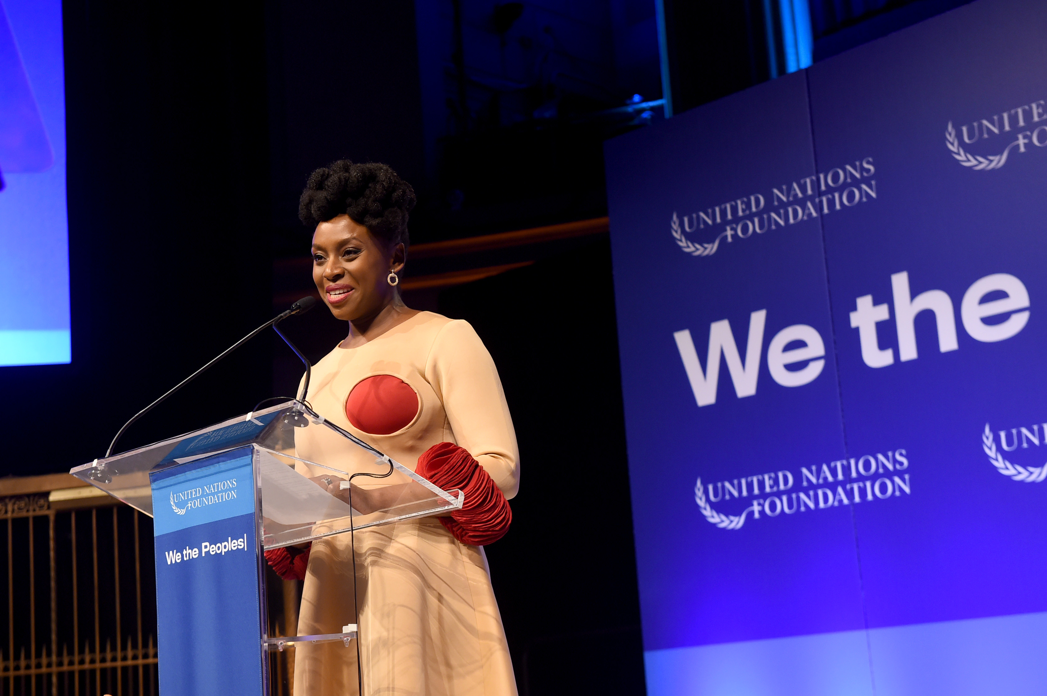 Chimamanda Adichie becomes First Nigerian to Receive UN Foundation Global Leadership Award