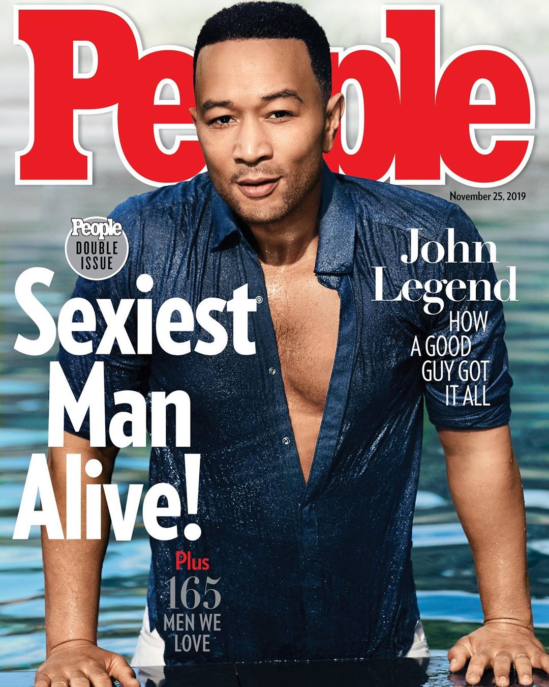 From Ordinary People to Sexy Legend! John Legend is People