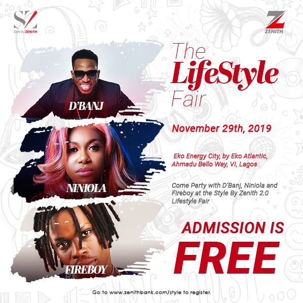 Party with your Favorite Stars at the Biggest Lifestyle Fair, 'Style by Zenith 2.0'   November 29th – December 1st