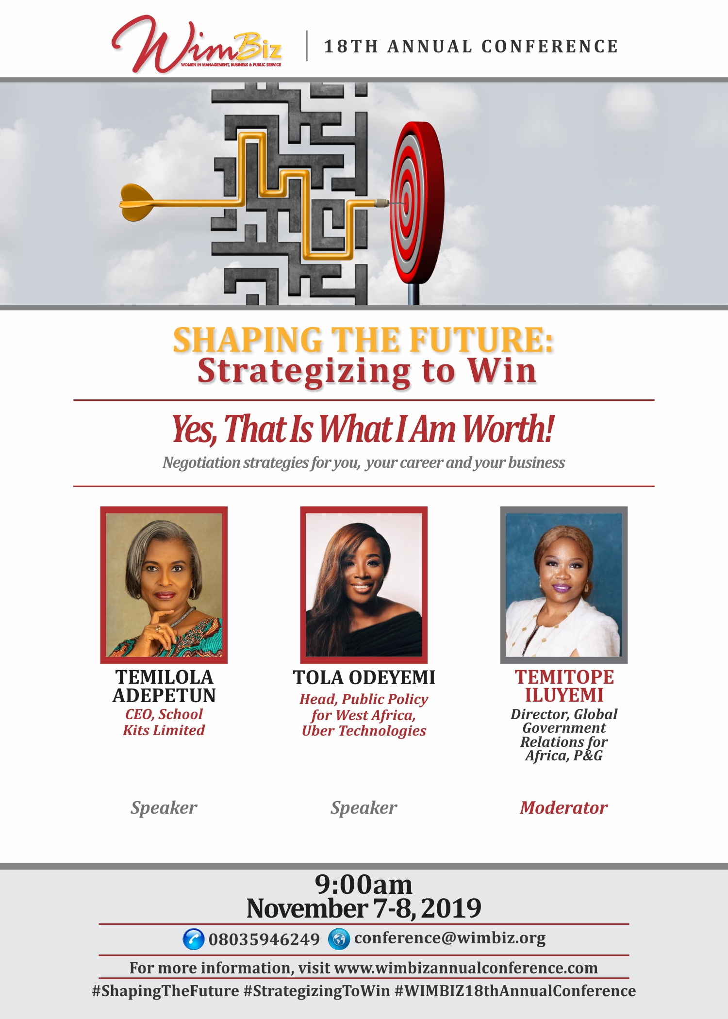 Meet the Speakers for 2019 WIMBIZ Annual Conference | November 7th – 8th
