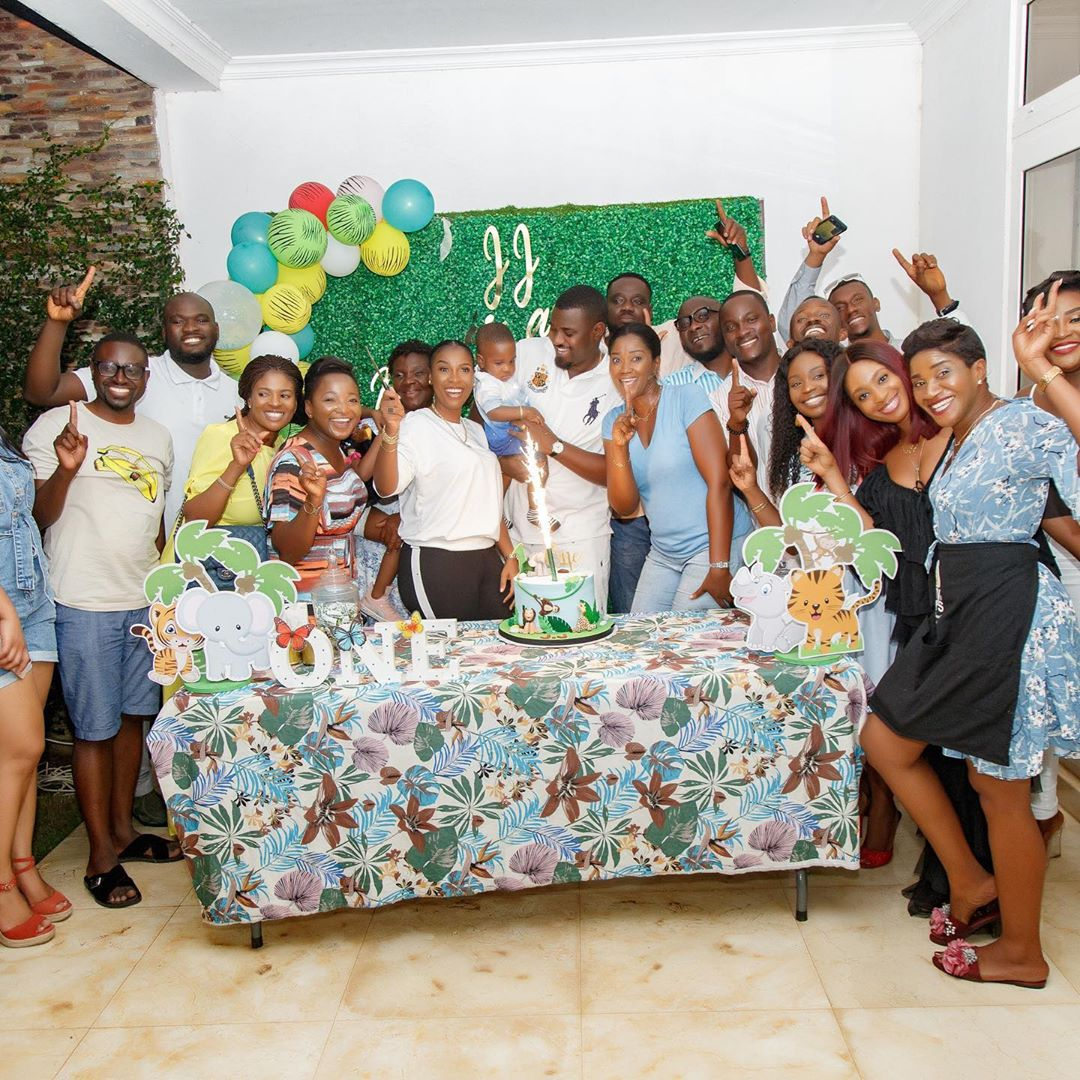 John Dumelo & Gifty throw 1st Birthday party for their Son and it was all Shades of FUN