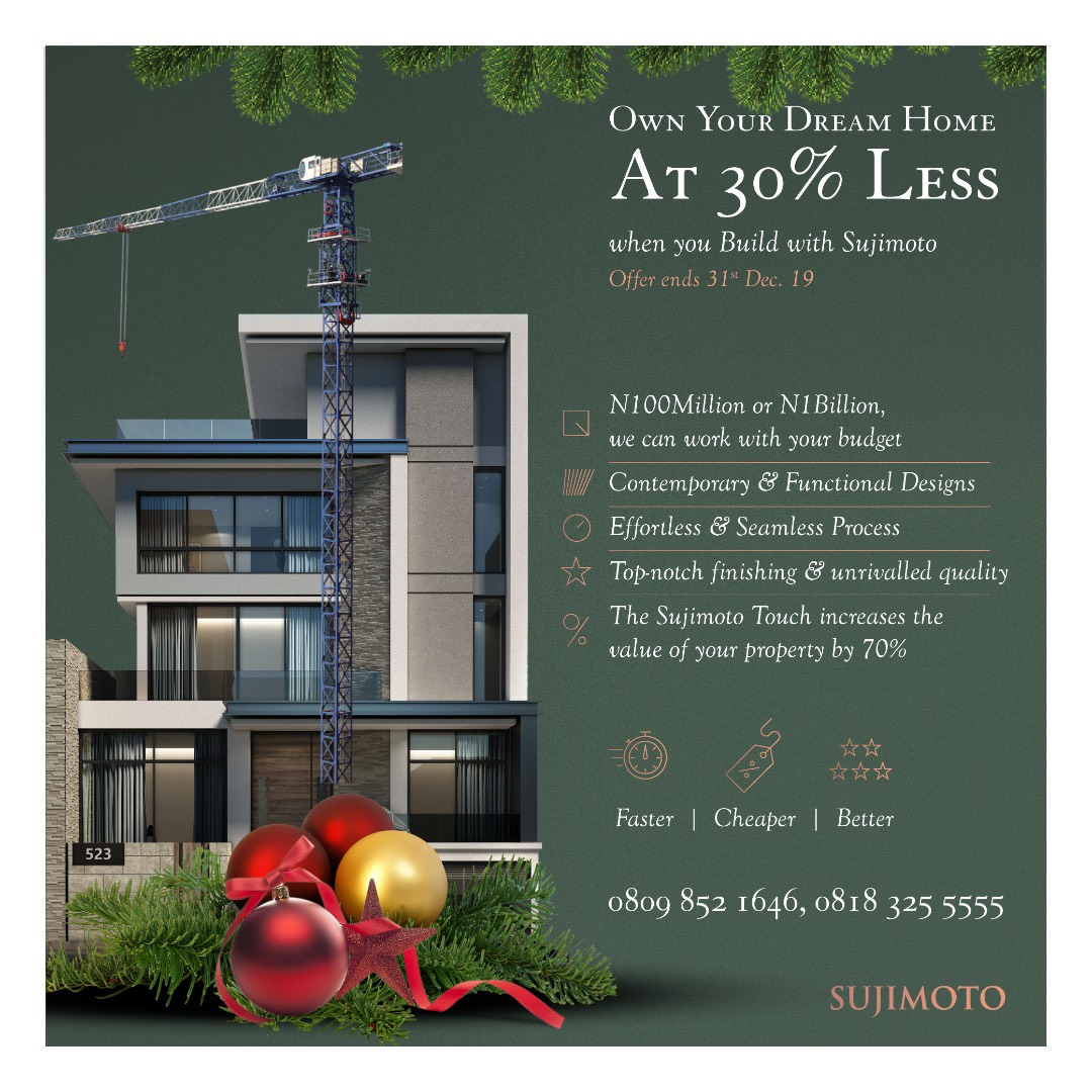 Do You own a Land & Need a Trusted Developer to Help Build Your Dream Home? Sujimoto has got You Covered!