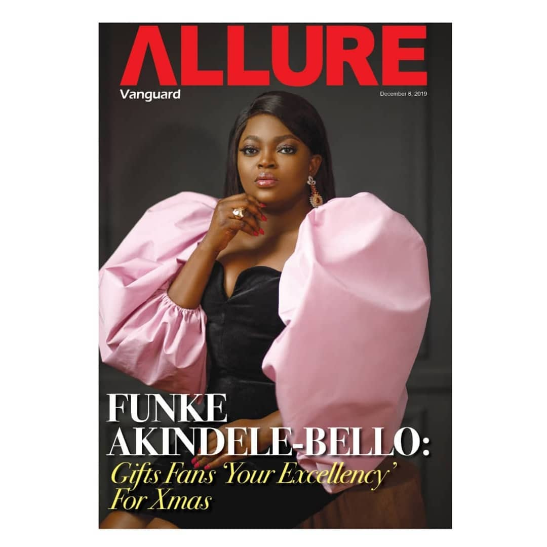 Funke Akindele-Bello talks Mo Abudu & Directing for the First Time on Vanguard Allure's Latest Issue