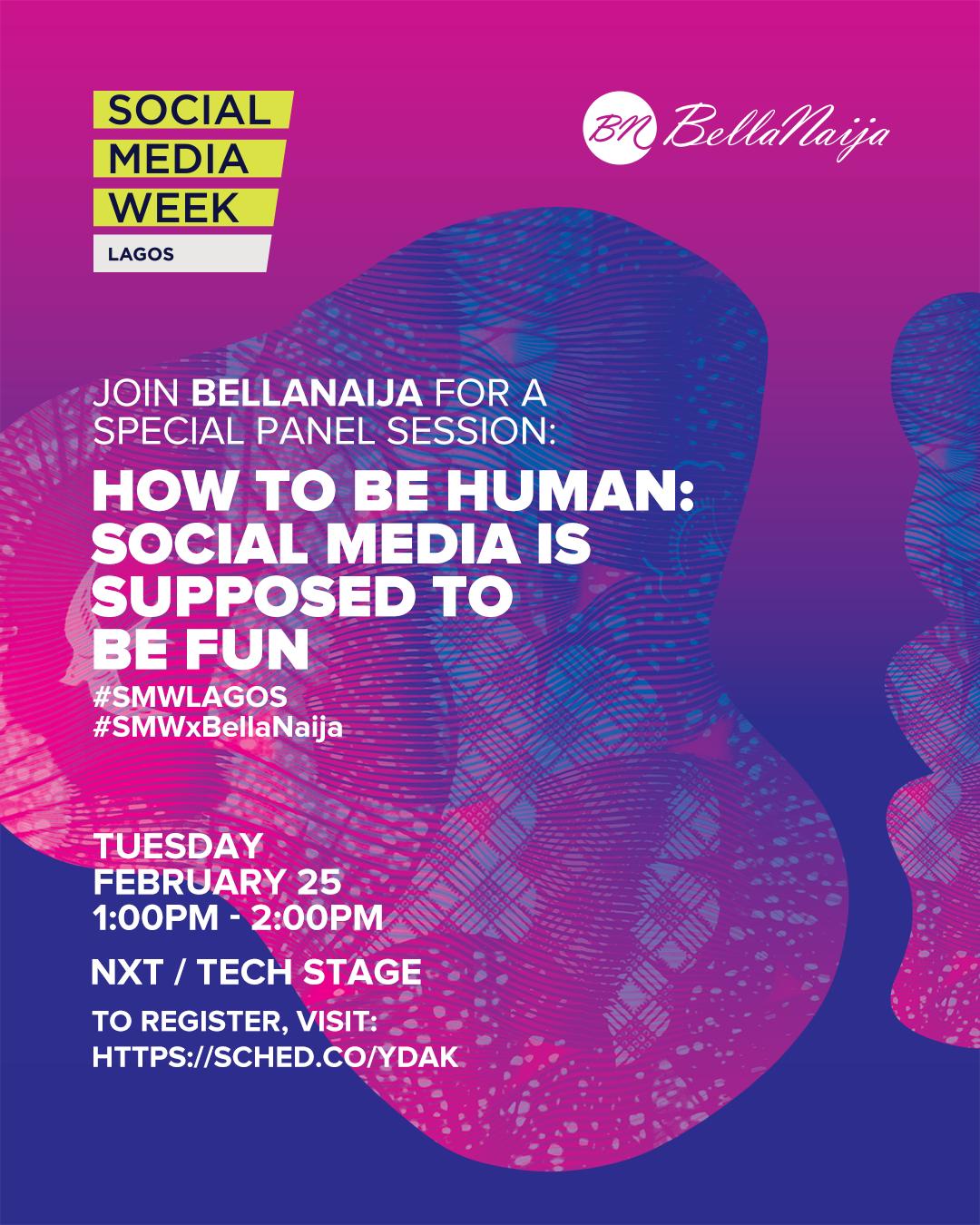 Social Media Week Lagos Panel Sessions