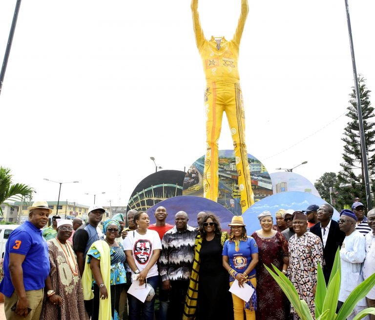 Here's Why Lagos State is Taking Down the Fela Statue At Allen Roundabout - BellaNaija