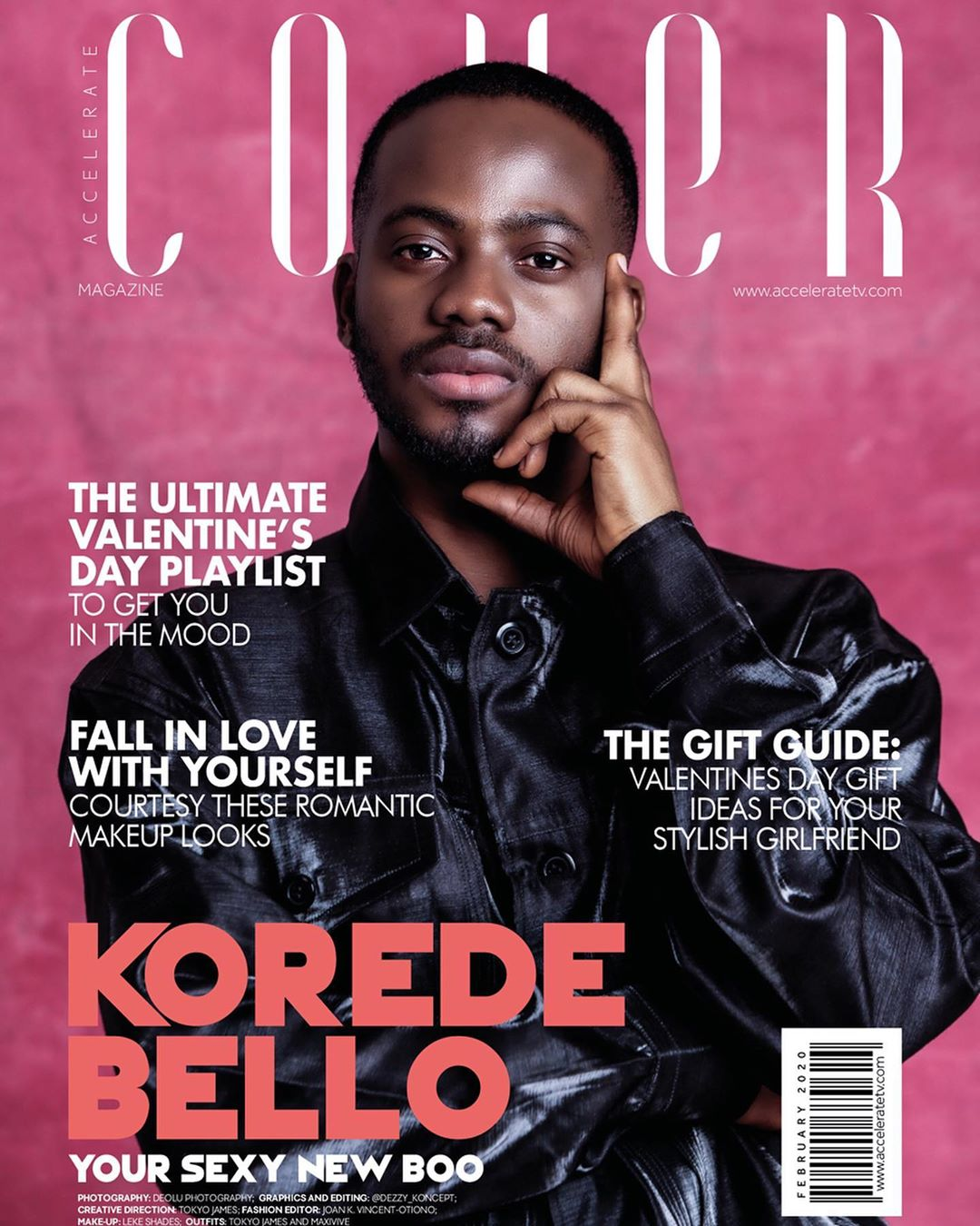 Your Sexy New Boo – Korede Bello is on Accelerate TV's The Cover