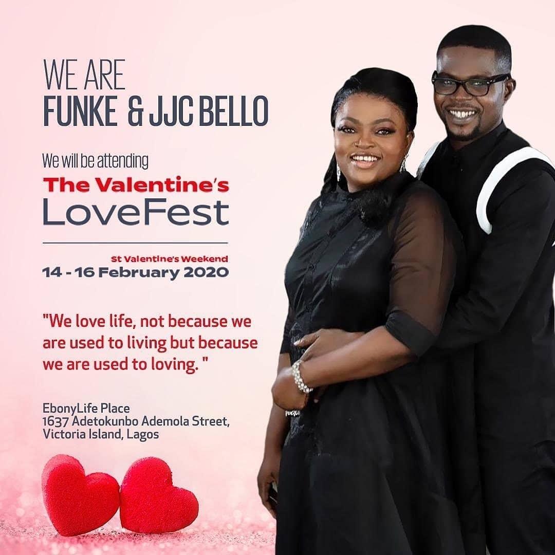 Funke & JJC Bello, Kate Henshaw, Omoni Oboli will grace the EbonyLife Place's #ValentineLoveFest & you shouldn't be Left Out
