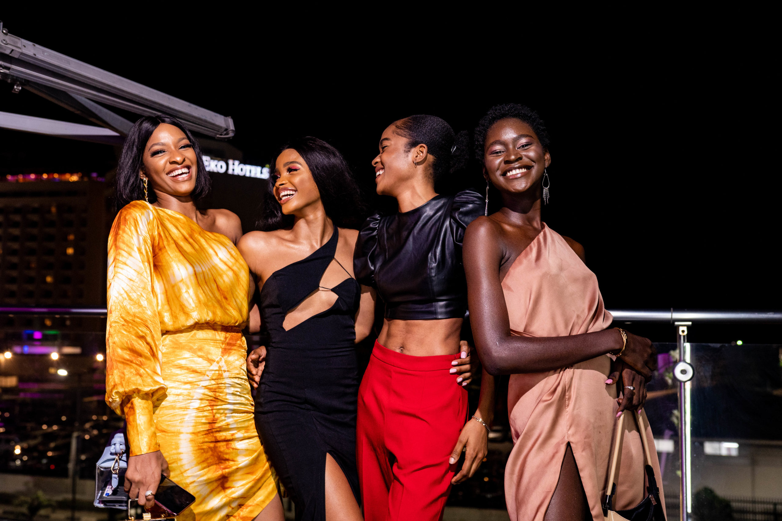 Nigerian Millennials turned up for the Launch of the World's First Thinnest Fragrance 'IDÔLE by Lancôme' & It was a Vibe