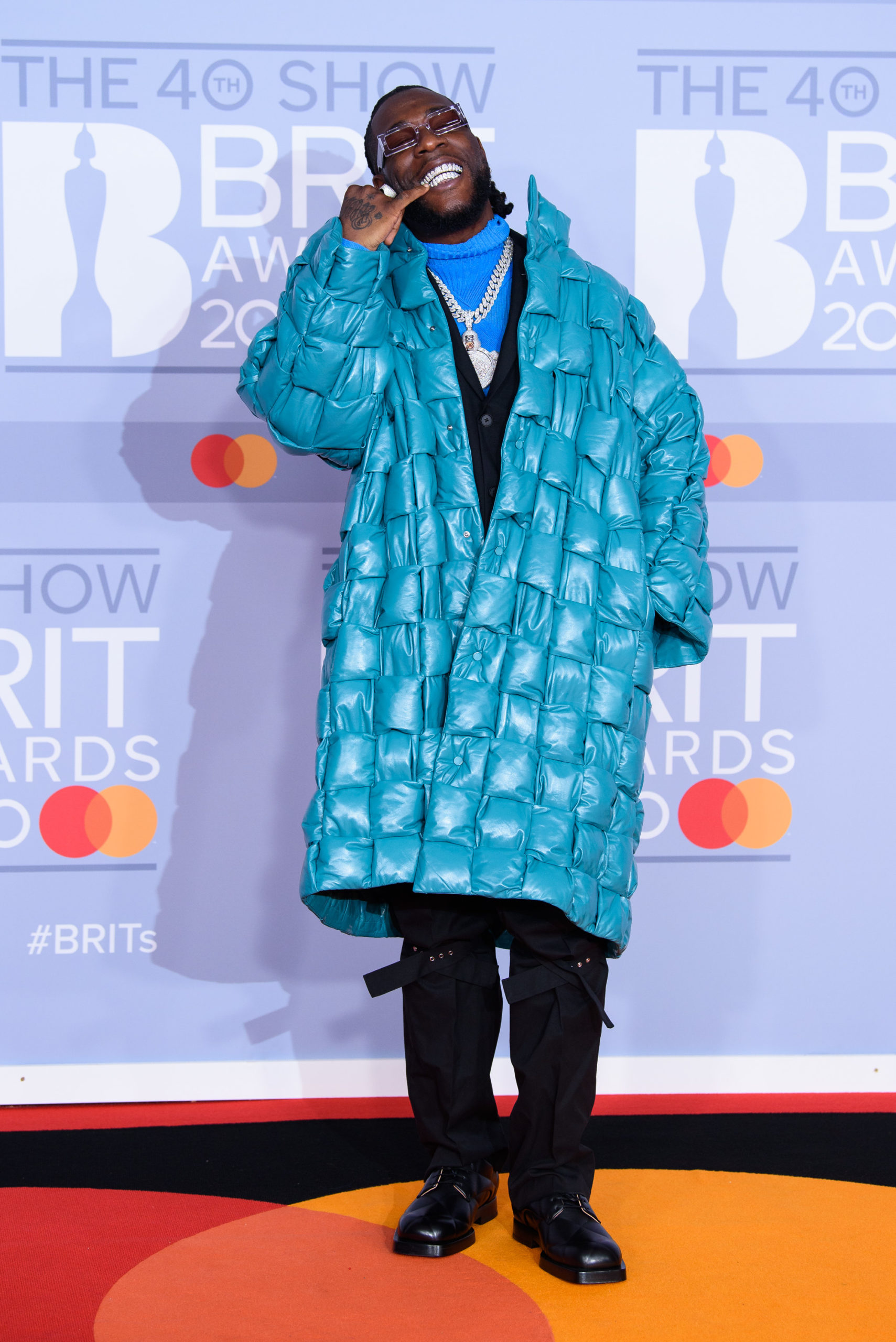 Burna Boy was an AFRICAN GIANT at the BRIT Awards 2020