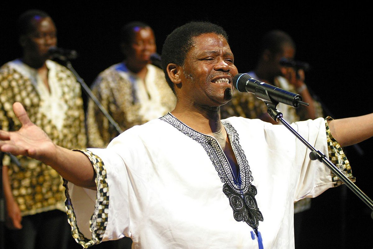 Joseph Shabalala, Ladysmith Black Mambazo founder, dies aged 78