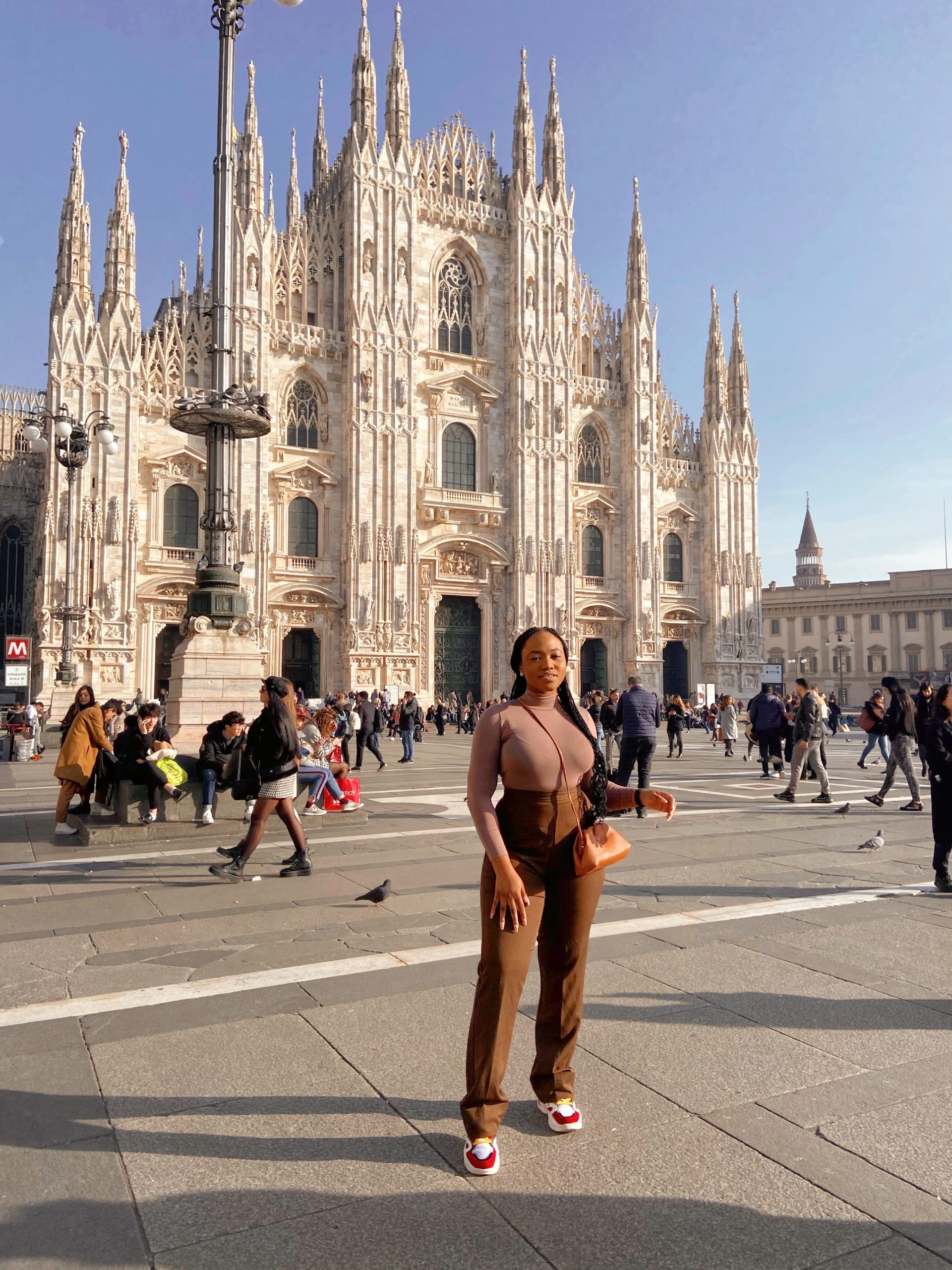 Mary Edoro: I Attended The Biggest Textile Exhibition In Milan + Ate Pasta & Went Shopping in my Dream City! Read About My #BNatMilanoUnica Trip Here