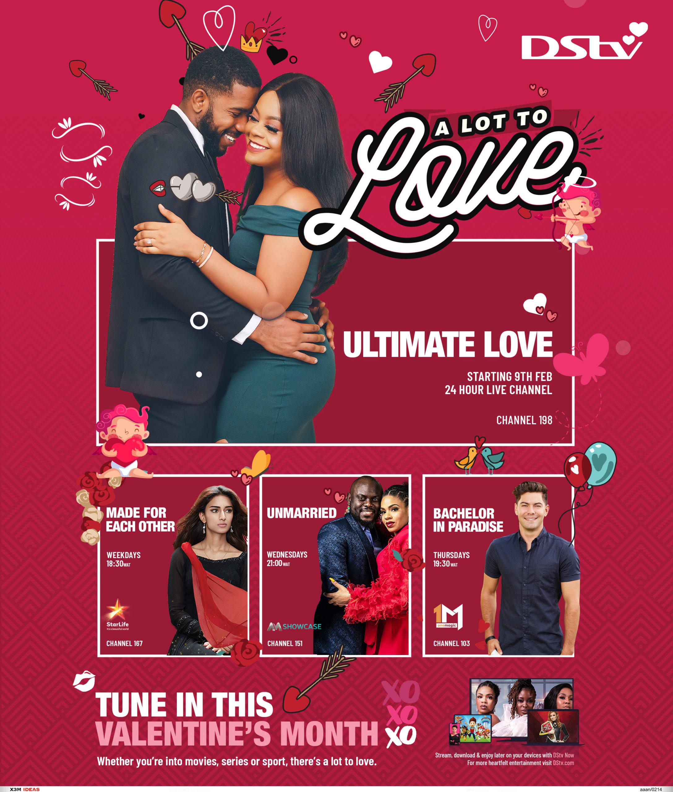DStv Month of Love programs