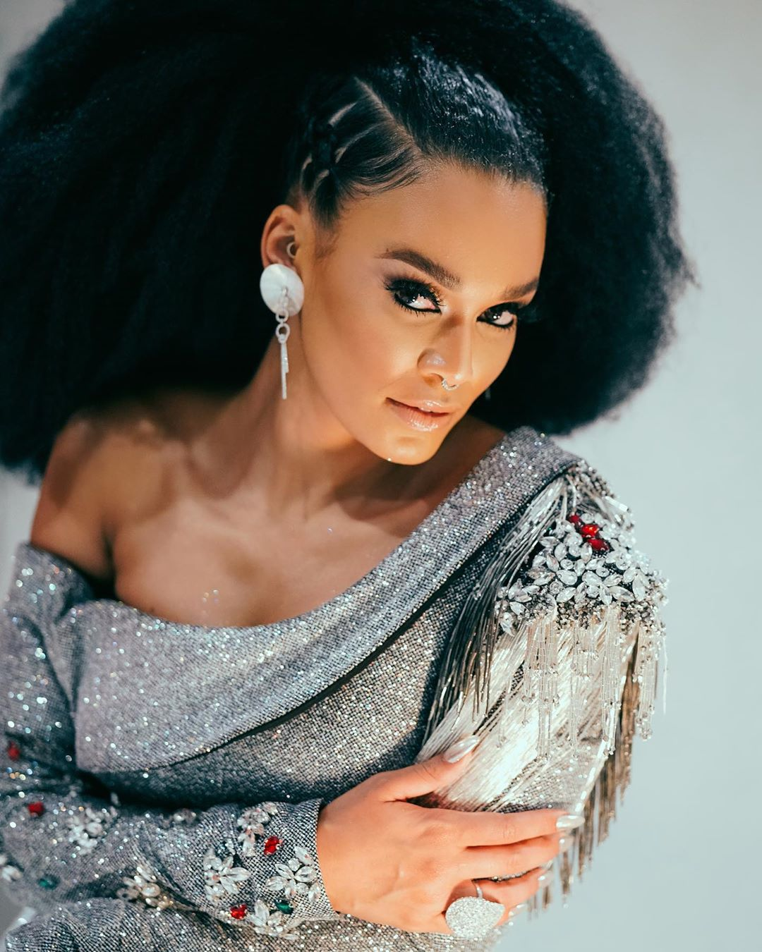 All the ? Looks of Pearl Thusi at the Netflix Queen Sono