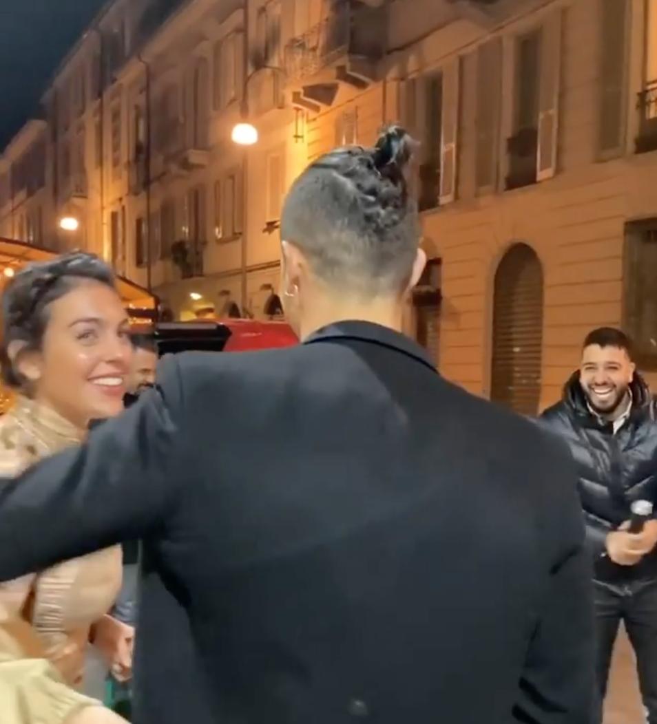 Cristiano Ronaldo Gets Mercedes Amg Birthday Gift From Girlfriend Georgina Rodriguez Bellanaija