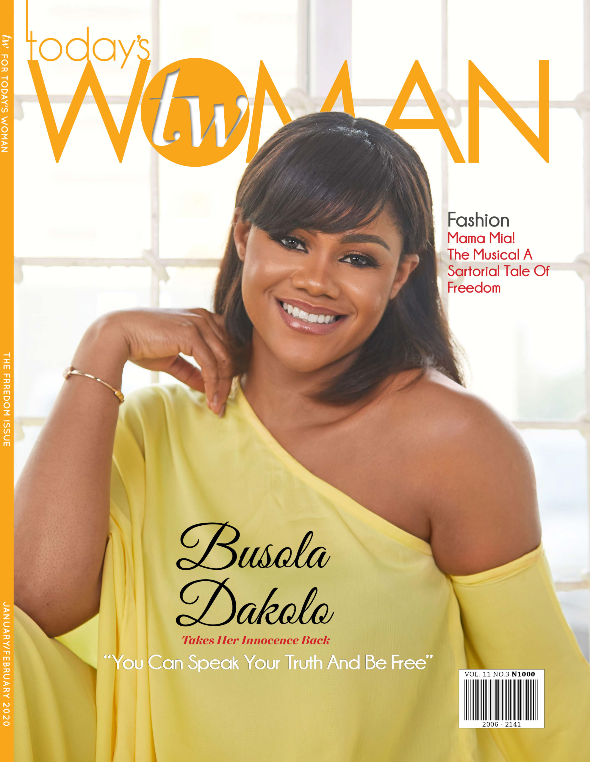 Busola Dakolo is the Face of Freedom in this Special Issue of TW Magazine