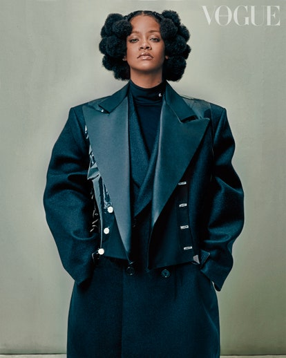 Rihanna Opens Up About New Album and Having Kids in British Vogue