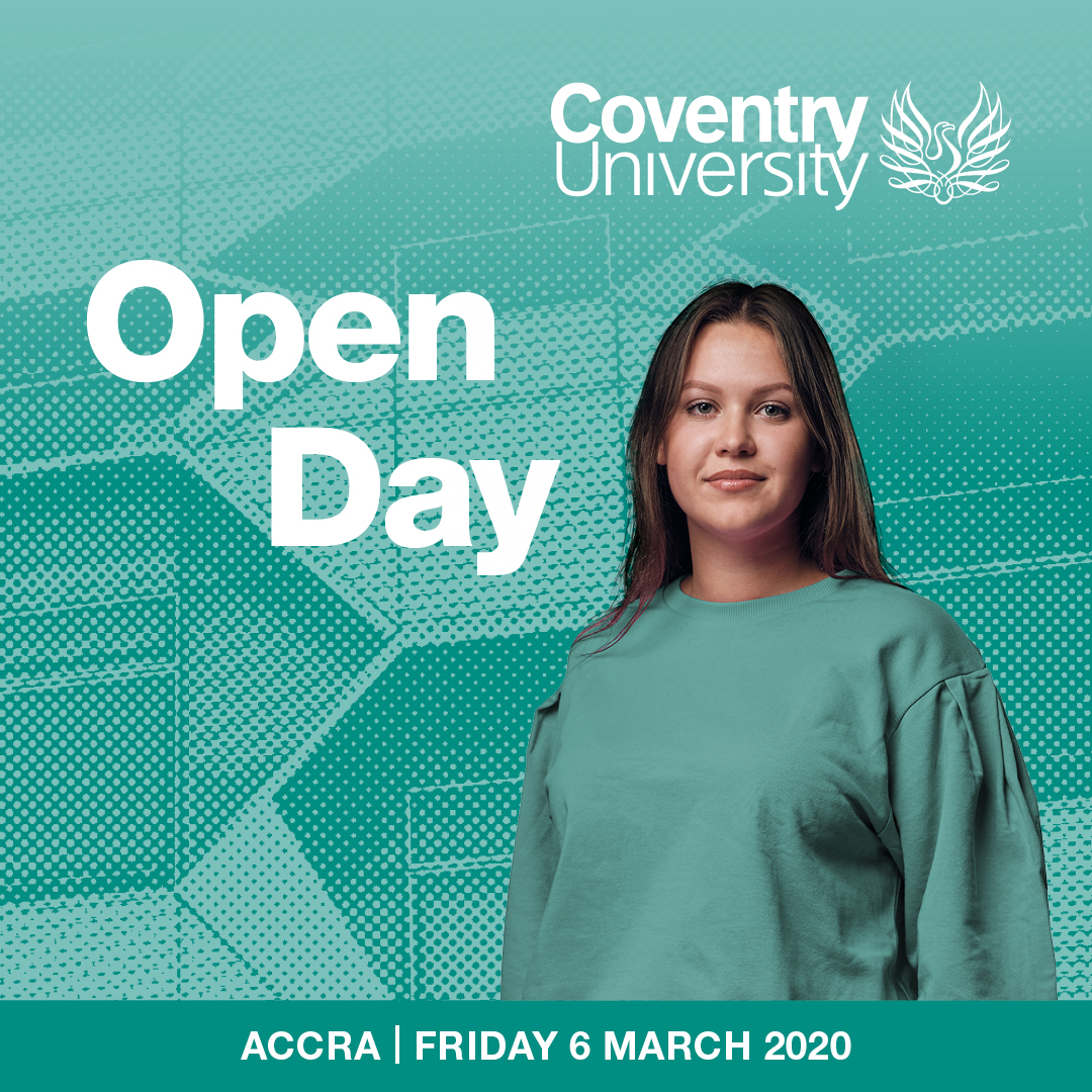 Coventry University March Open Day