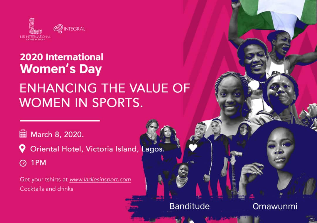 2020 International Women's Day for Olympic athletes in Nigeria