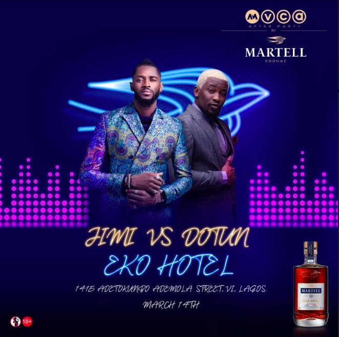 Martell X AMVCA Hype Battle