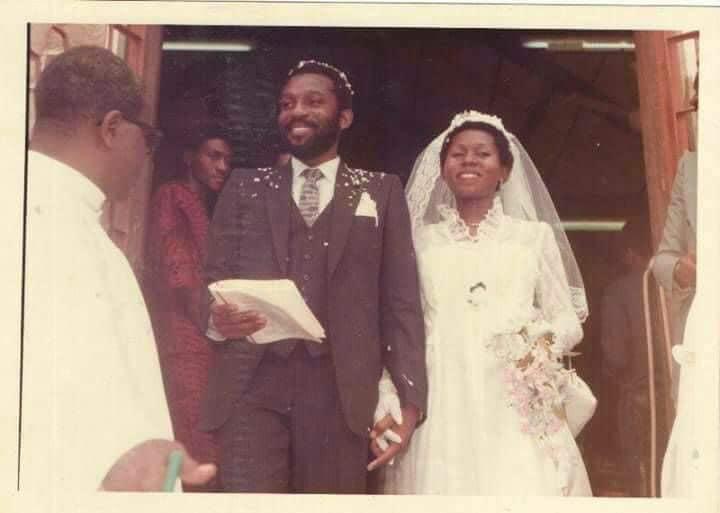 Rotimi Akeredolu & his Wife Betty Throw it Back to Celebrate their 39th Anniversary | BellaNaija