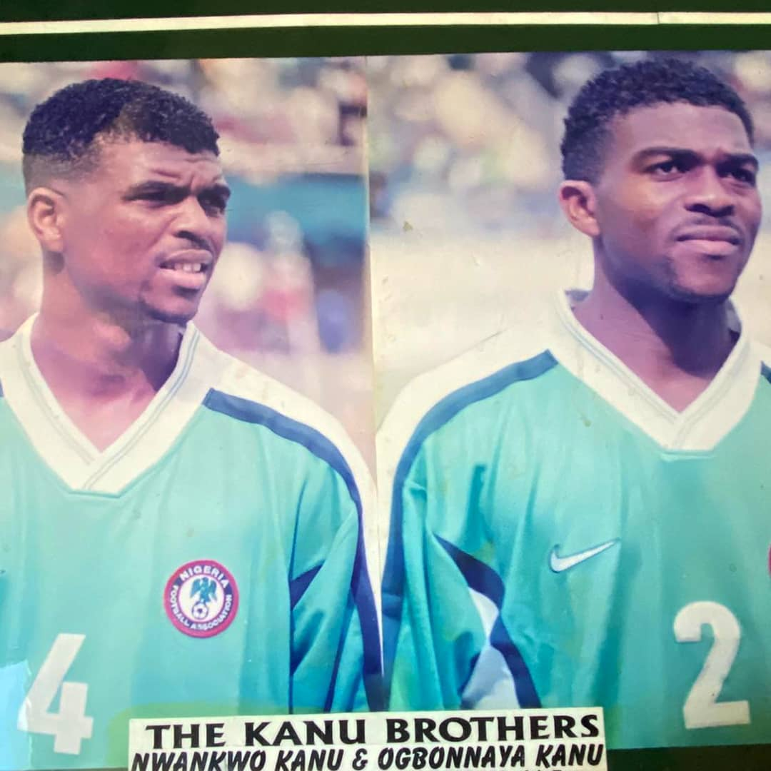 The Kanu Brothers representing Nigeria - Can You Guess What Year it Is? | BellaNaija
