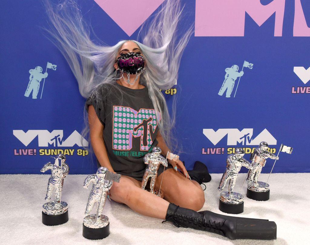 Vmas Lady Gaga Said Wear A Face Mask But Make It Fashion Feedmuster