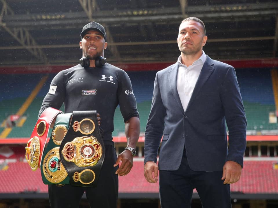 Joshua Hints On How He Will Defeat Fury