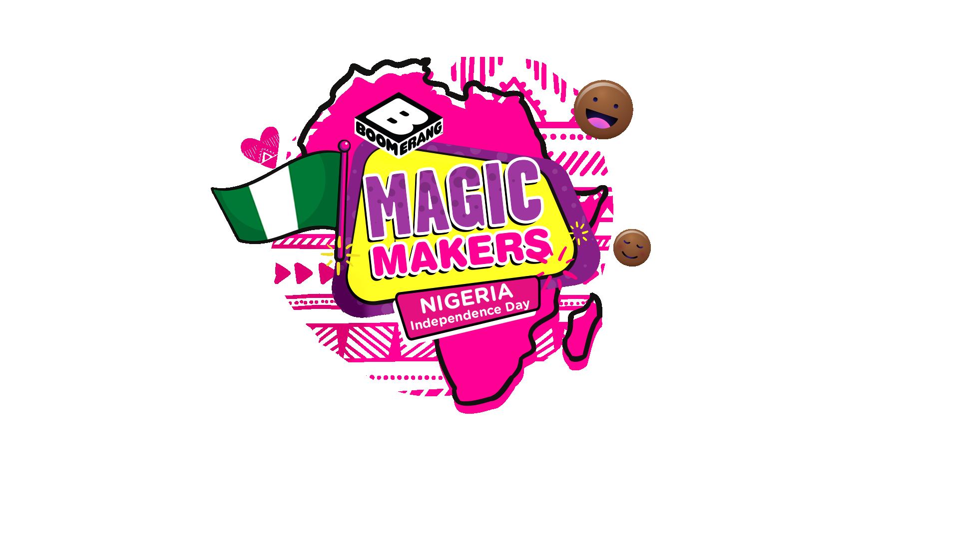 Boomerang S Magic Makers Is Celebrating Nigeria At 60 Kids Can Be A Part Of All The Fun Bellanaija