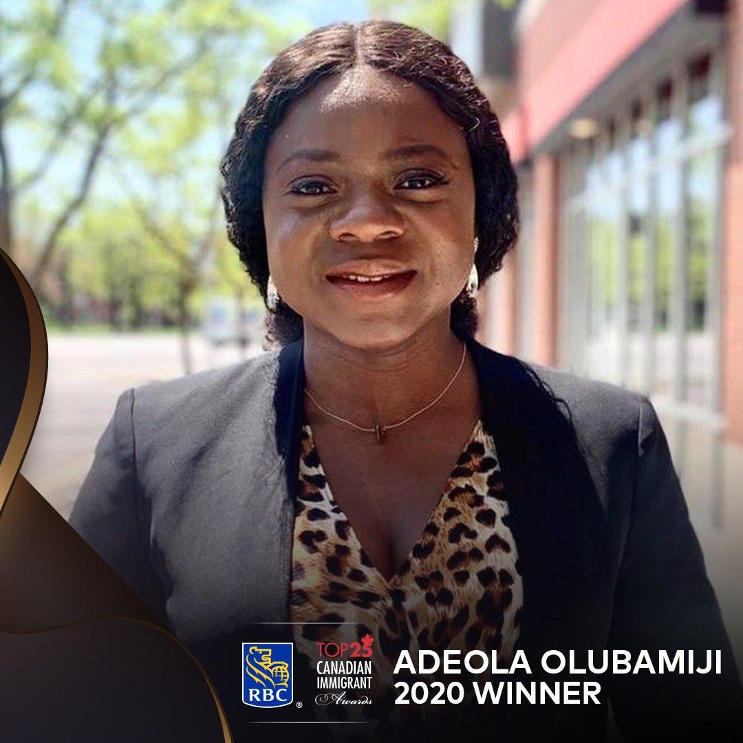 Two Nigerians, Adeola OlubamijiandAjibola Abitoye Make Checklist Of Prime 25 Canadian Immigrants For 2020 Eh7oCDOXkAEmCdK
