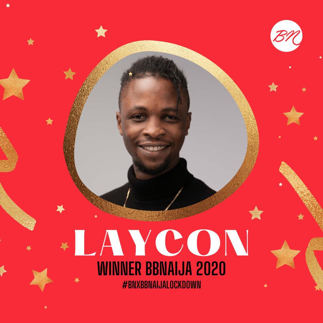 Laycon wins Big Brother Naija season 5
