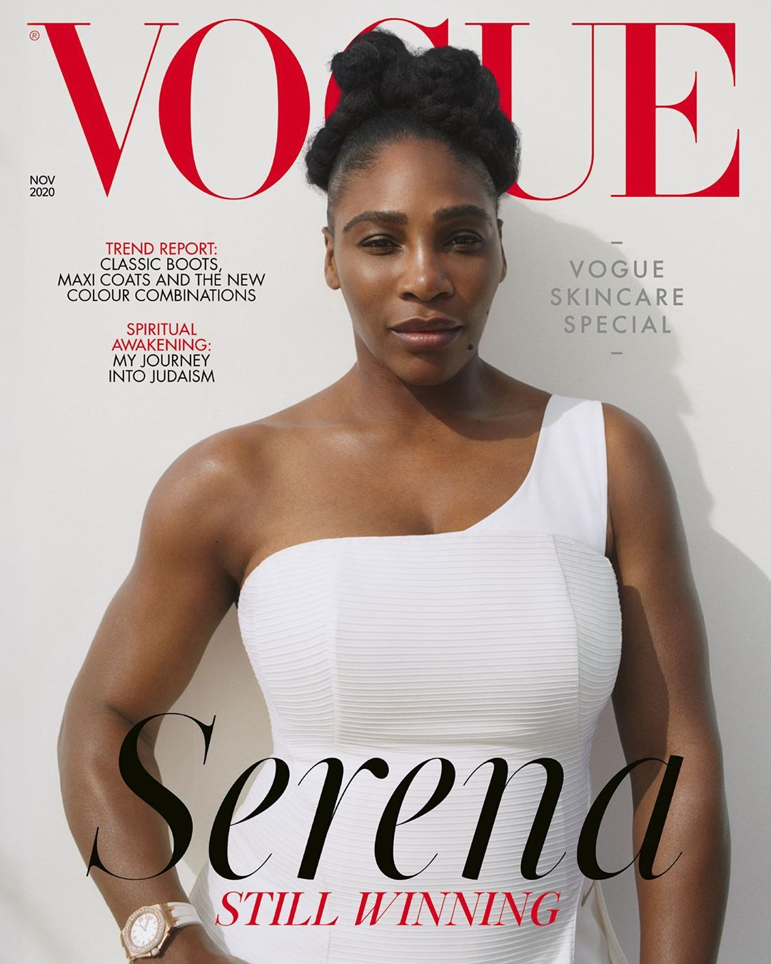 Serena Williams Talks Black Lives Matter, Body Image & More