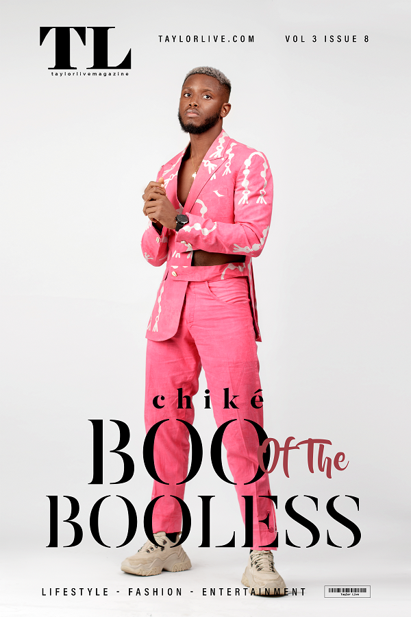 Boo Of The Booless! Chike covers Taylor Live Magazine's Latest Issue