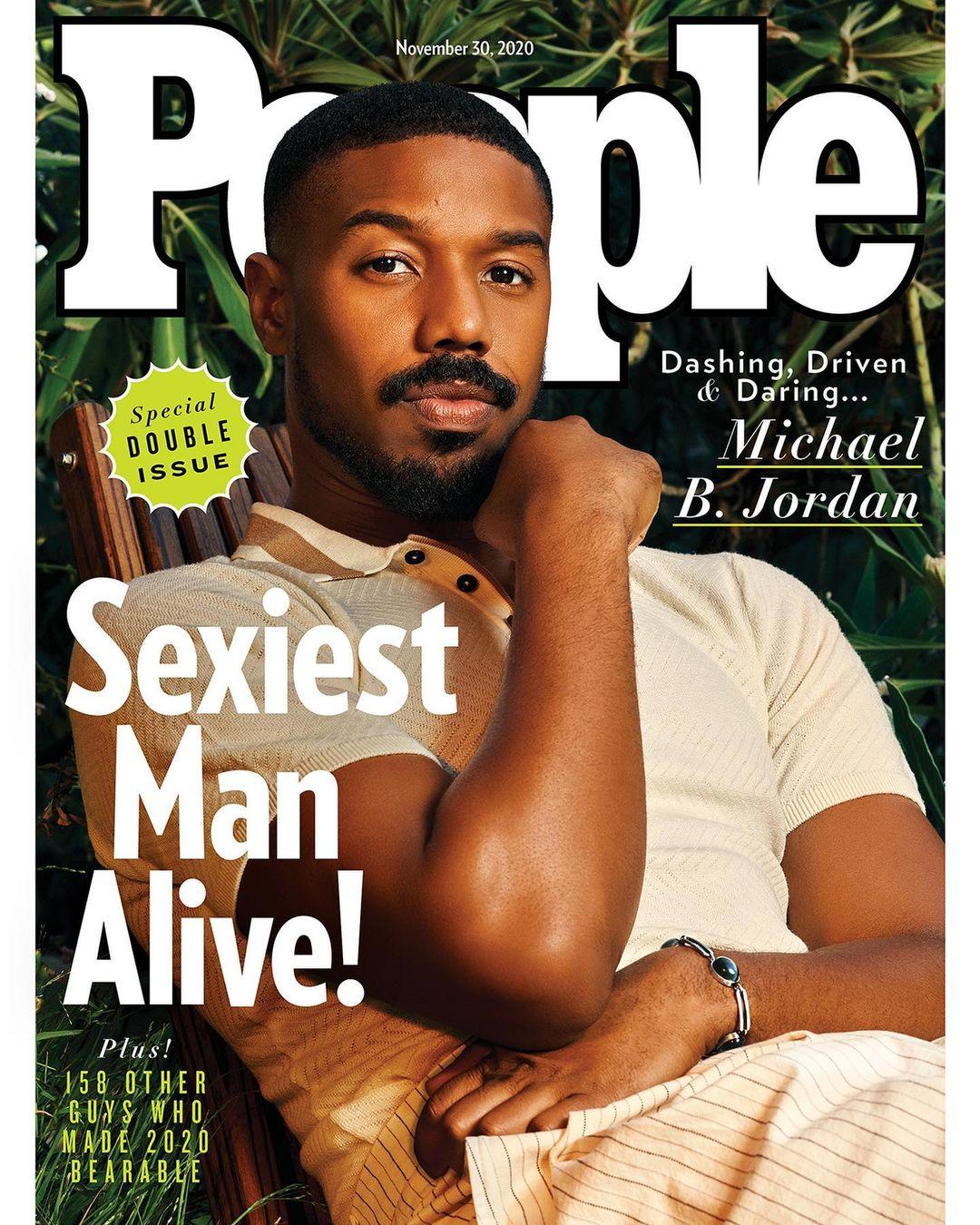 People's 2020 Sexiest Man Alive Is... Michael B. Jordan | BellaNaija