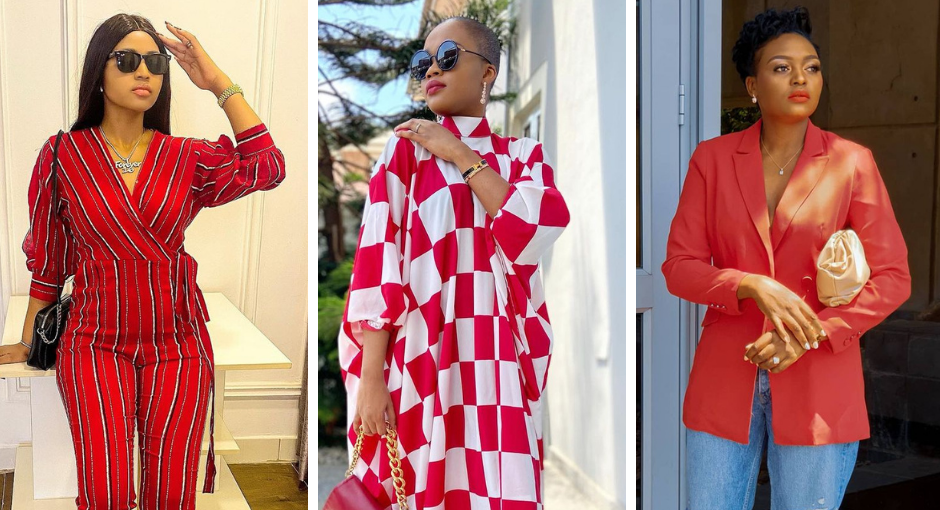 See How Style Stars Rocked a Pop of Red this Week on #BellaStylista: Issue 120