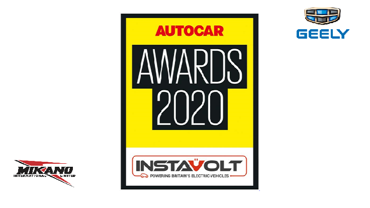 Geely Holding Group Brands and People recognized at the 2020 Autocar Magazine Awards
