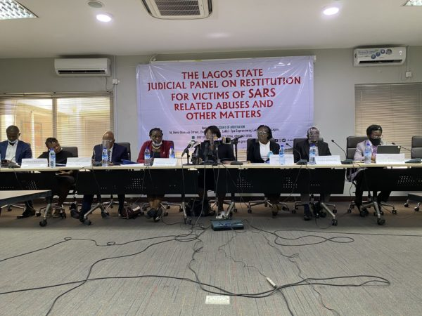 Highlights of Tuesday's Sitting at the Lagos State Judicial Panel of Enquiry on SARS