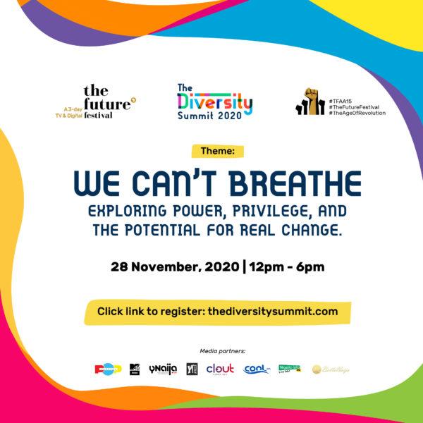 Claire Pierangelo, Bisi Fayemi, Akin Banuso set to speak at The Future Festival's Diversity Summit   November 28th