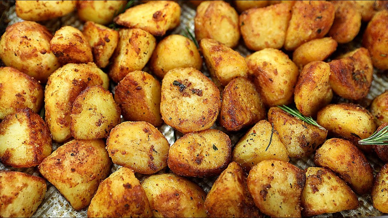 You Should Try Out Sisi Jemimah's Crispy Roast Potatoes Recipe