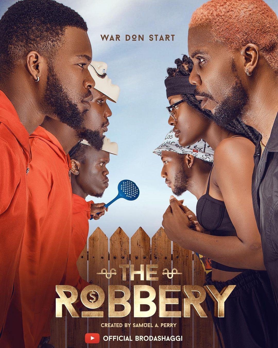 """Here's Where You Can Watch Broda Shaggi's New Action-Comedy Film """"The Robbery"""""""