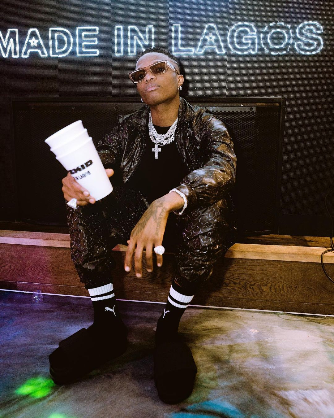"""Must-See Moments from Wizkid's """"Made In Lagos"""" Album Listening Party"""