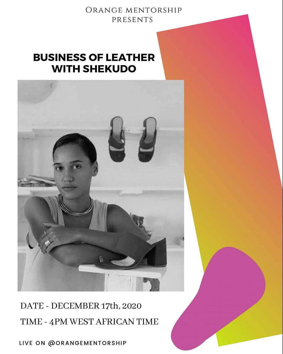 Adebayo Oke-Lawal Discusses the Business Of Leather with Shekudo's Akudo Iheakanwa