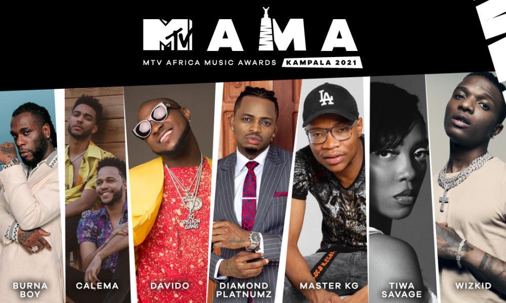 See the Full List of 2021 #MTVMAMA Nominees including Tems, Omah Lay and Rema! | BellaNaija