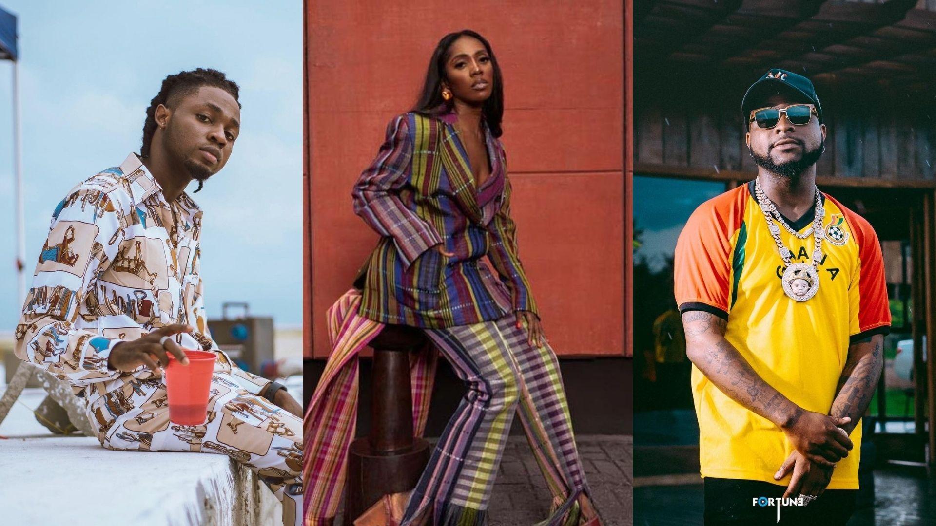 Omah Lay, Tiwa Savage, Davido, Tems Nominated for 14th Headies Awards | See Full List