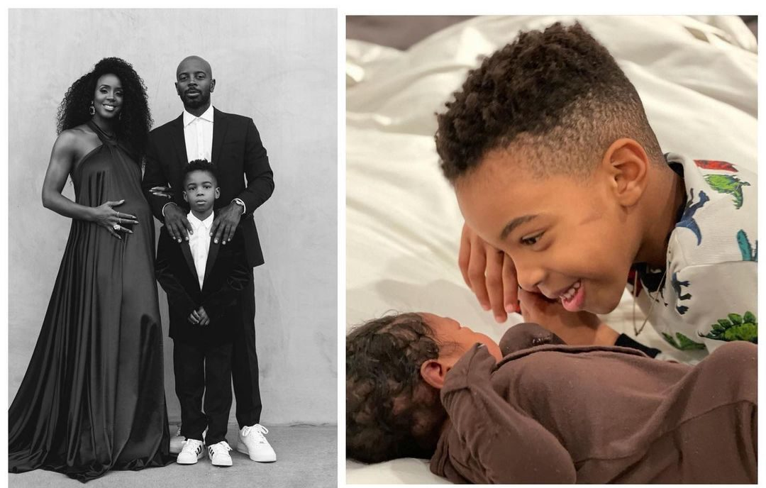 Kelly Rowland shows off baby snap and says: We are truly grateful