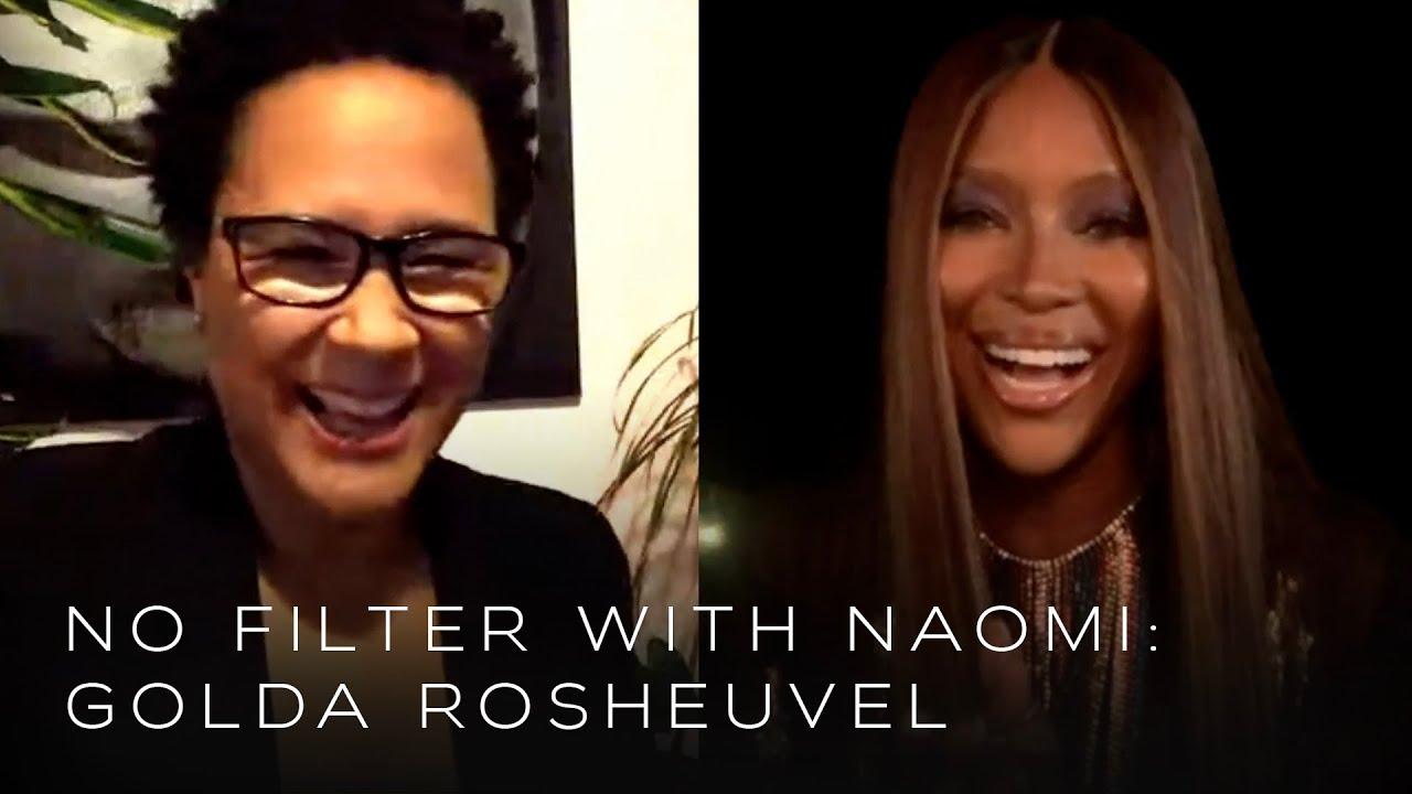 """Bridgerton"" Star Golda Rosheuvel talks Playing TV's First Black Queen on ""No Filter with Naomi"""