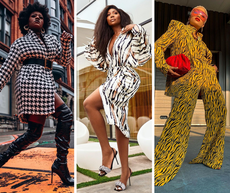 See How Style Stars are Rocking Prints this Week on #BellaStylista: Issue 129