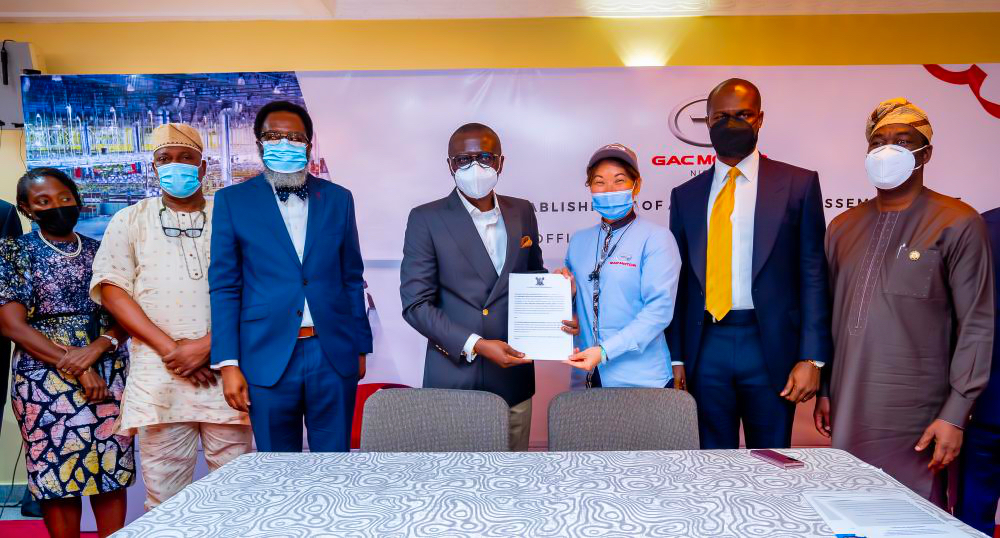 LASG unveils joint Venture with CIG Motors to set up a world-class Motor Vehicle Assembly Plant & to Kick Start 'LagosRide' Taxi Scheme