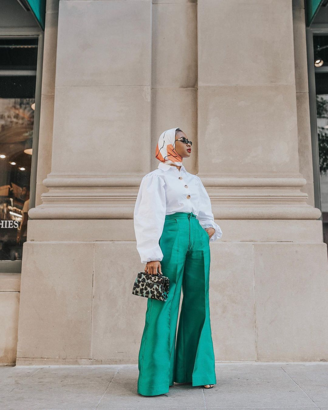 Here Are 7 Modest Outfit Ideas To Copy From Hafsah Mohammed This Week
