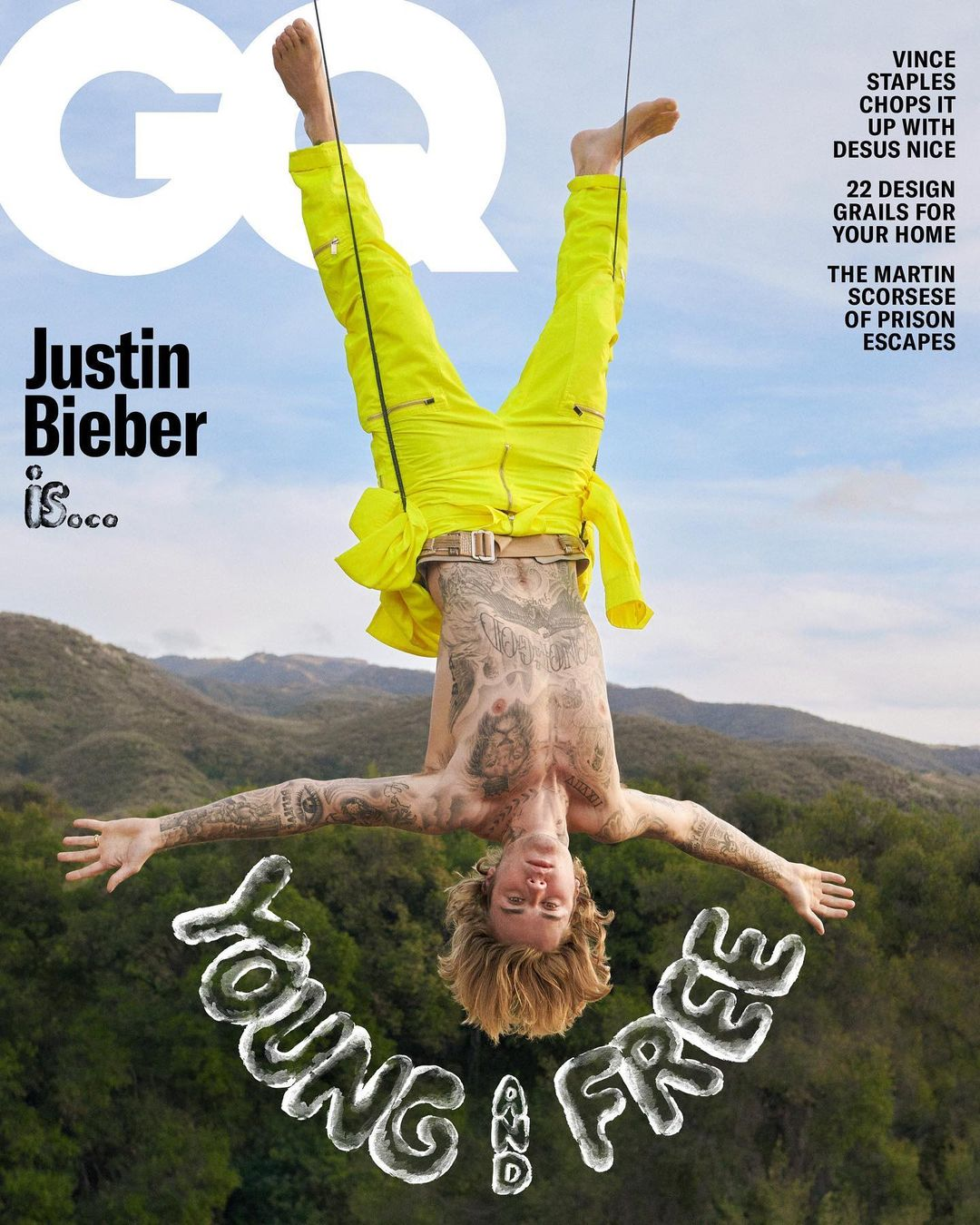 Justin Bieber is GQ Magazine's May Cover Star