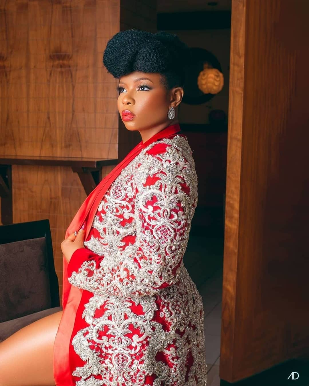 """Yemi Alade Served it Hot with this Look at the Premiere Episode of """"The  Voice Nigeria"""" 